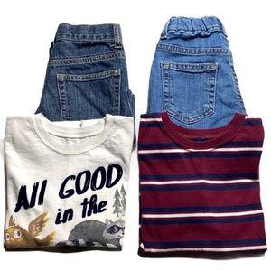 Boys 5/5T 4-Piece Clothing Bundle Lot
